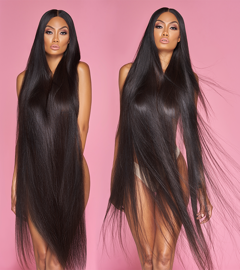 PRETTY PERUVIAN STRAIGHT