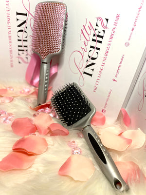 PRETTY HAIR BARB BLING BRUSH