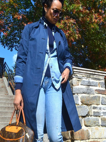 BLUE MARINE TRENCH