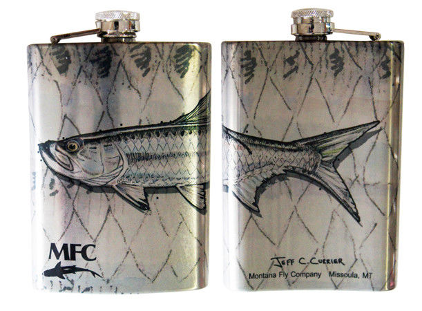 MFC Stainless Hip Flask
