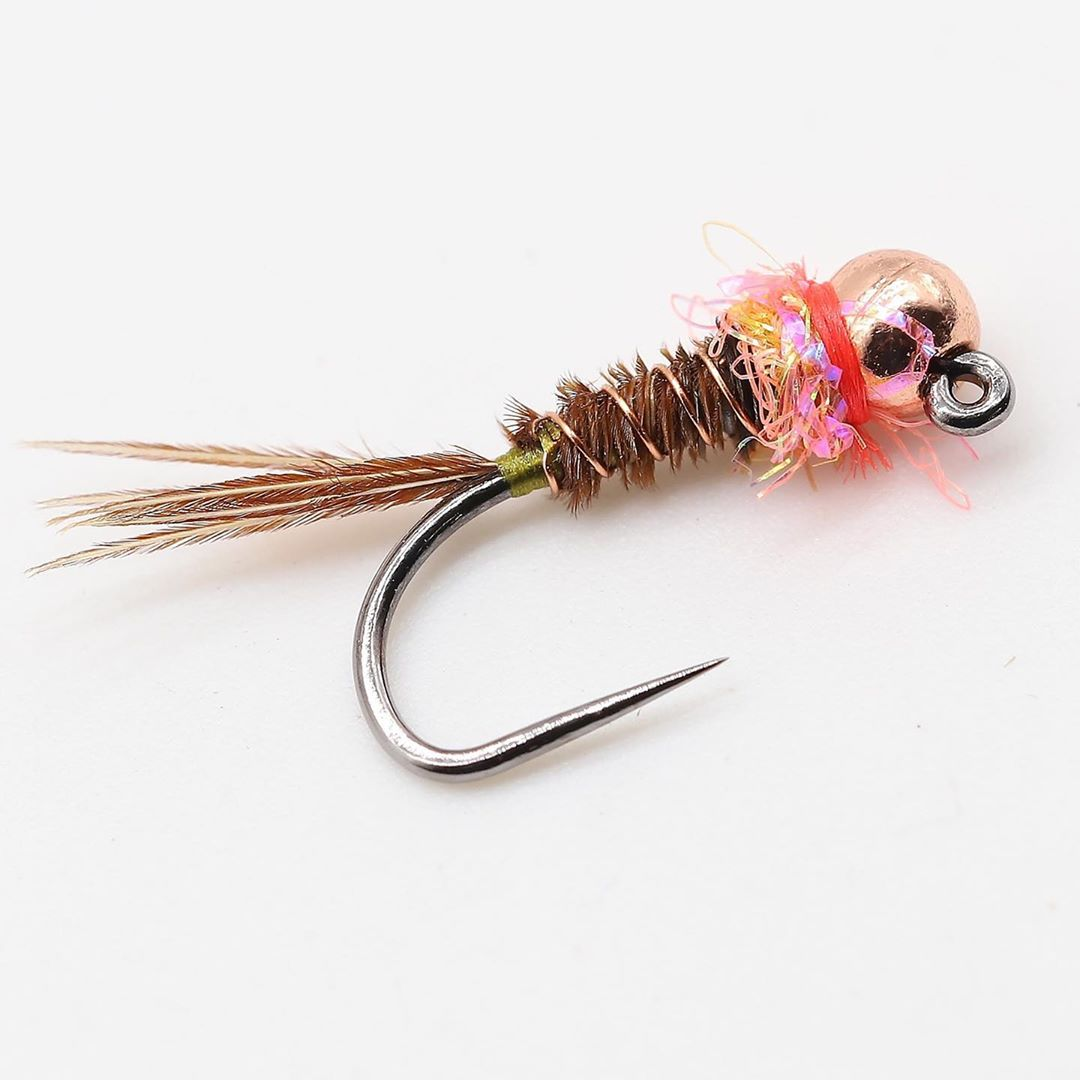 Frenchie Jig Nymph Variant 7: Pheasant Tail