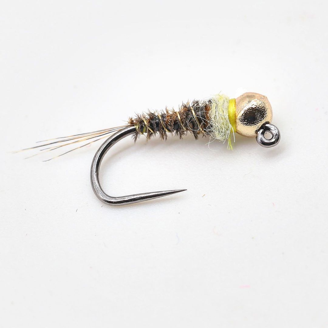 Frenchie Jig Nymph Variant 8: Sulphur-Ish