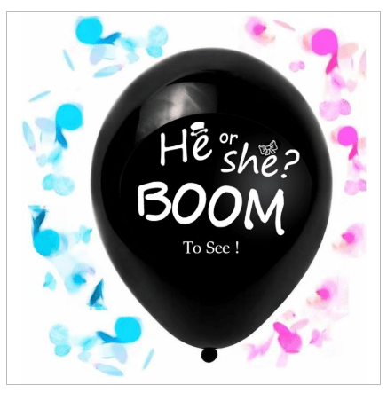 Gender Reveal Confetti Balloon