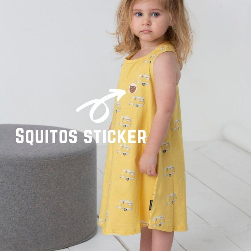 Squitos - lemon eucalyptus citronella stickers