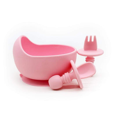 Sleepytot Silicone Suction Bowl with Fork and Spoon