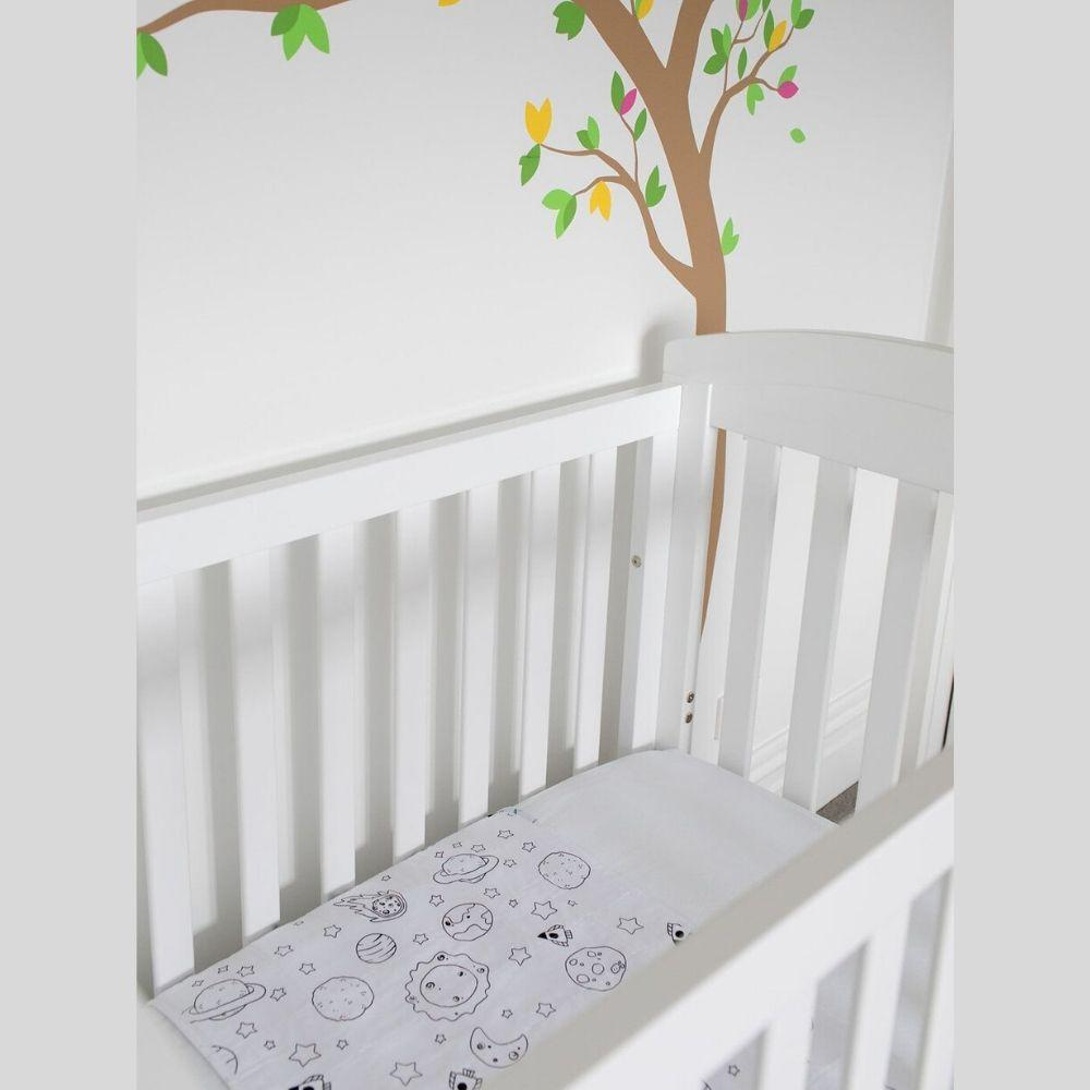 Brolly Sheets Cot Pad with Wings