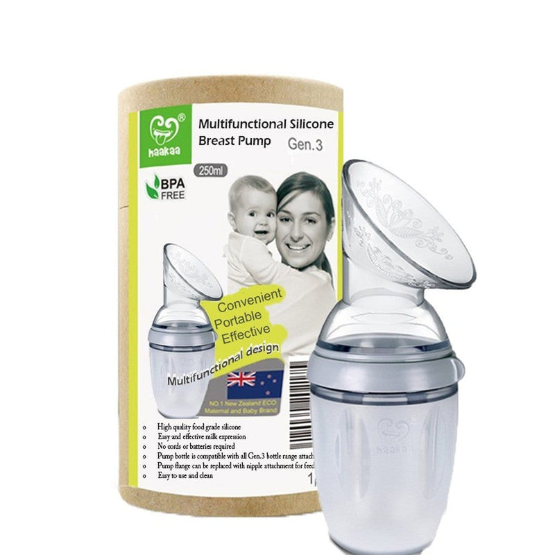 Haakaa Generation 3 Silicone Breast Pump 160ml/250ml