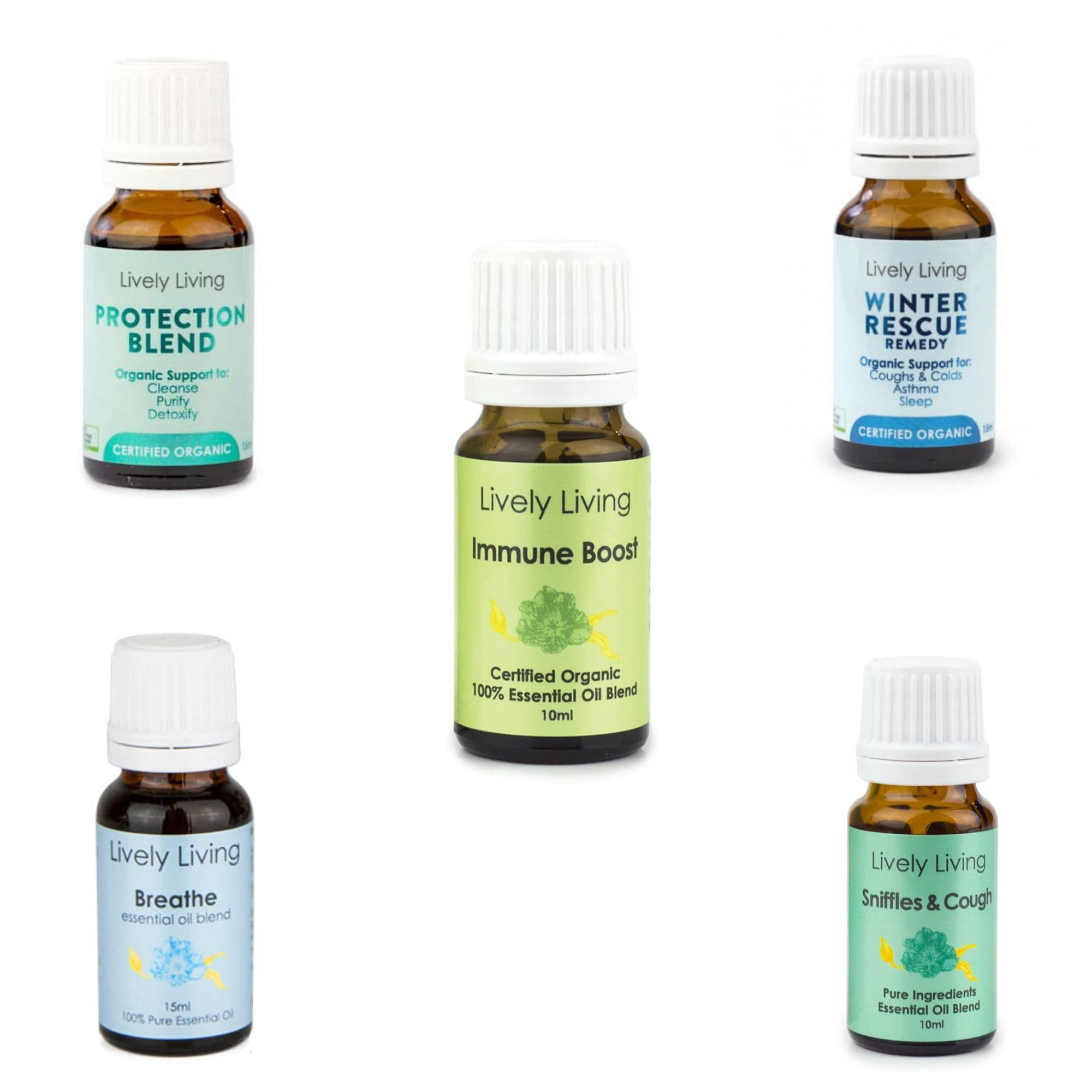 Lively Living Essential Oils Sleep Tight Babies