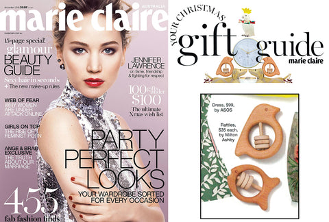 Marie Claire clipping