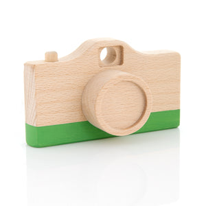 Green camera toy