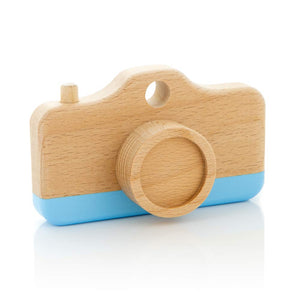 Camera with Pastel Stripe