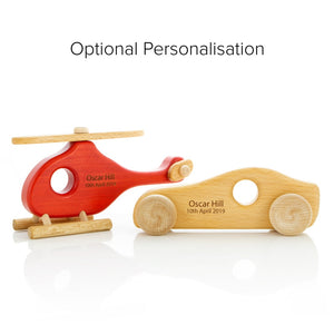 Helicopter and speedster personalisation