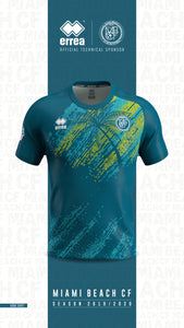 MBCF Official Jersey  (Blue/Green)