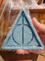 Deathly Hallows Coaster Mold