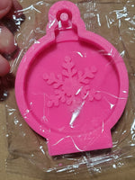 Round Snowflake Ornament Mold