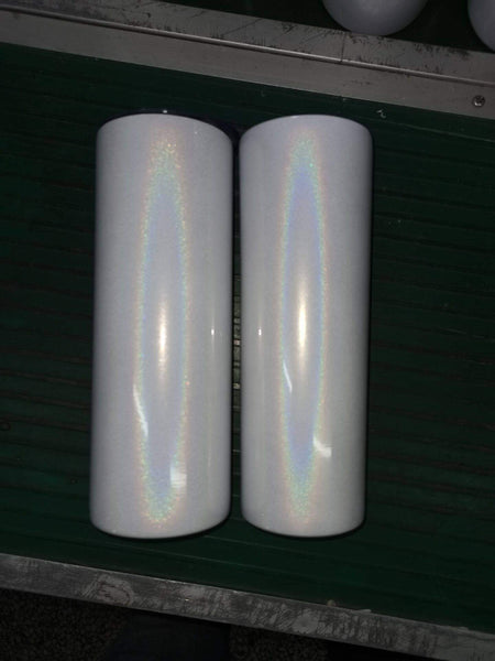 **BUY-IN** 20 oz Holographic Skinny Tumbler for Sublimation