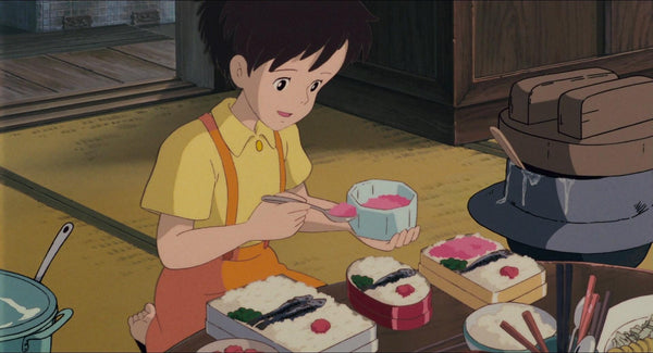 Satsuki - The characters in the movie My neighbor Totoro