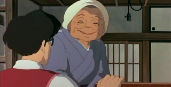 Nanny - The characters in the movie My neighbor Totoro