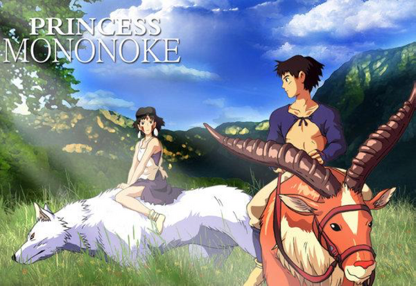 Top 5 Must See Studio Ghibli Movies - Princess Mononoke