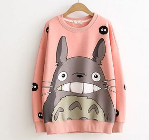 Totoro Hoodie Sweatshirt 3D Autumn Winter-2