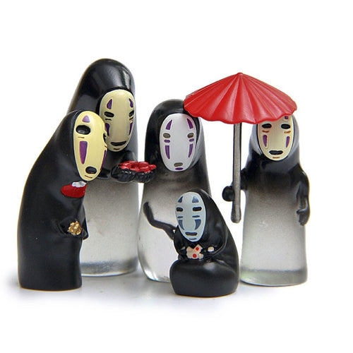 Mini Spirited Away No Face Figurine Toys