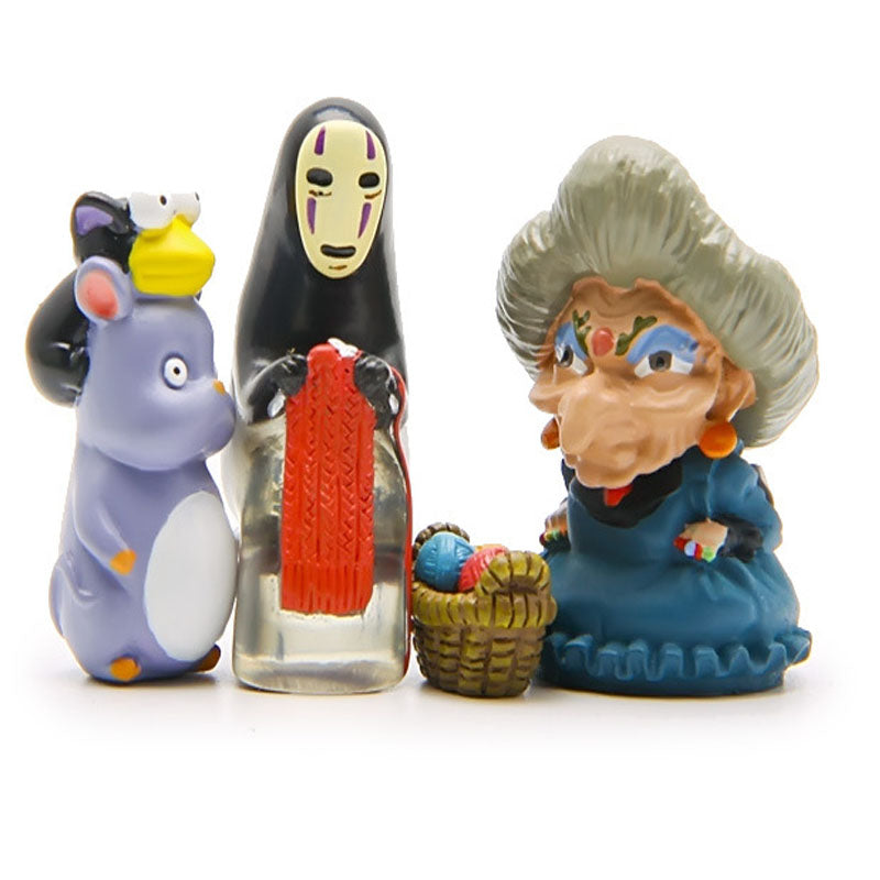 Mini Spirited Away Figurines Sets