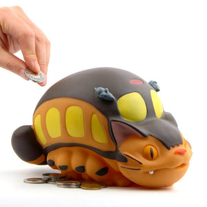 Cat Bus Totoro Money Box Bank Kids Toys