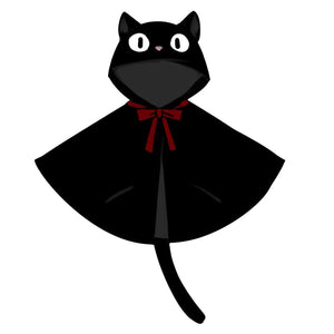 Kiki's Delivery Service Cosplay Black Cat Jiji Costume
