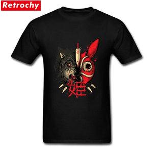 Trendy Japan T-shirts Mens Short 100% Cotton