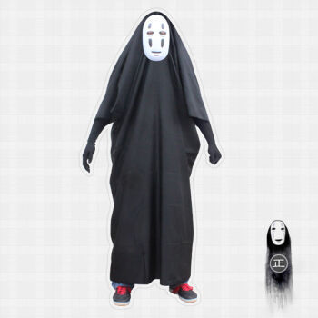 No Face Cosplay Costume Full Sets
