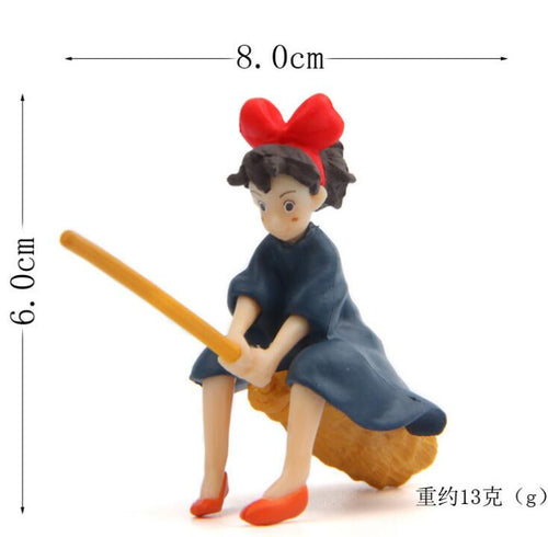 Kiki's Delivery Service Miniature Fairy Figurines