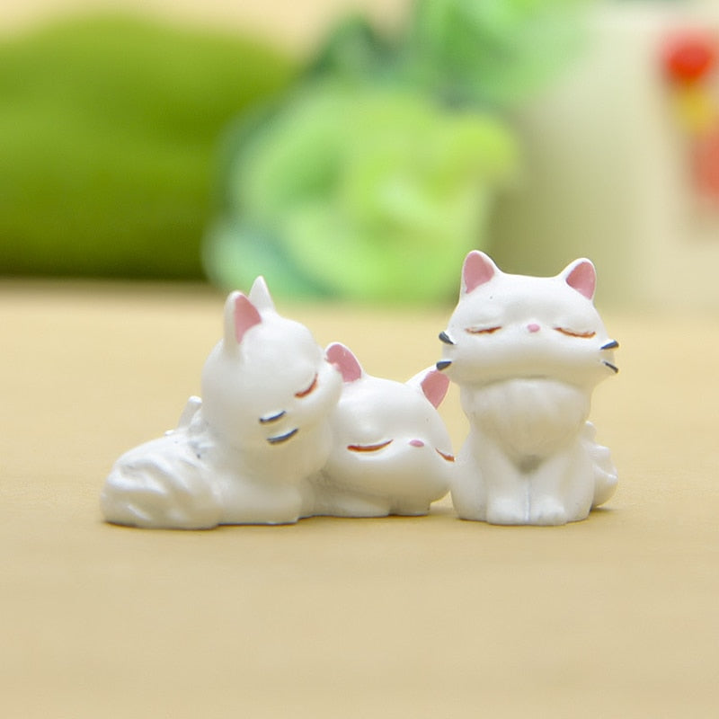 JiJi Cat Figurines Cute -3