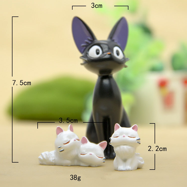 JiJi Cat Figurines Cute-1