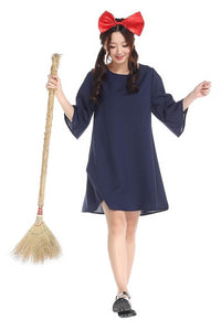 Kiki's Delivery Service Costume Cute Girl Dress
