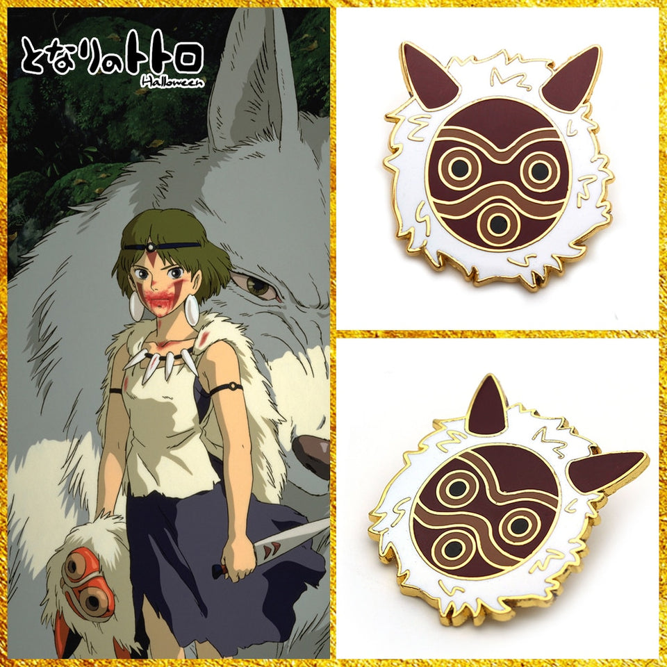 Ghibli Princess Mononoke God Mask