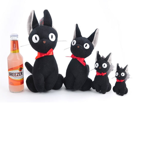 Black JiJi Plush Toy Keychain