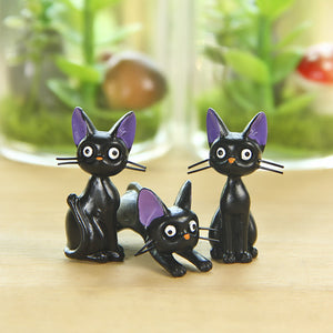 Kiki's Delivery Service Cat Figurines