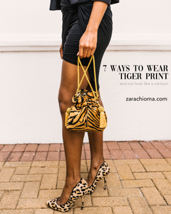 7 Ways to Wear Tiger Print and Not Look Like a Cartoon