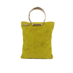 Zoe Mini Tote bag in Lime