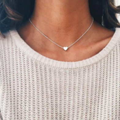 Heart Dainty Pendant Necklace