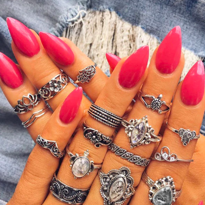 Chic Vintage Ring Set
