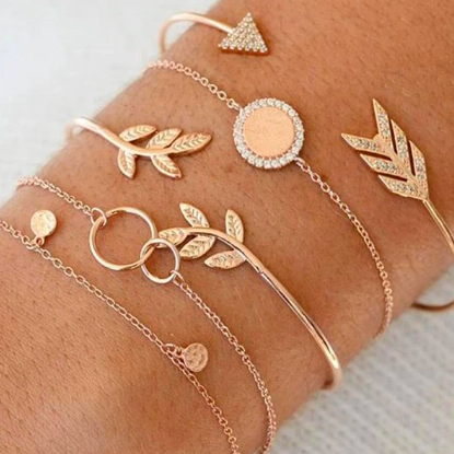 Bangle Arrow Bracelet Set