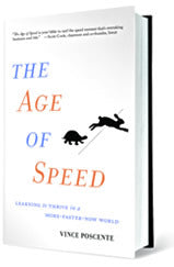 The Age of Speed - Hardcover Book