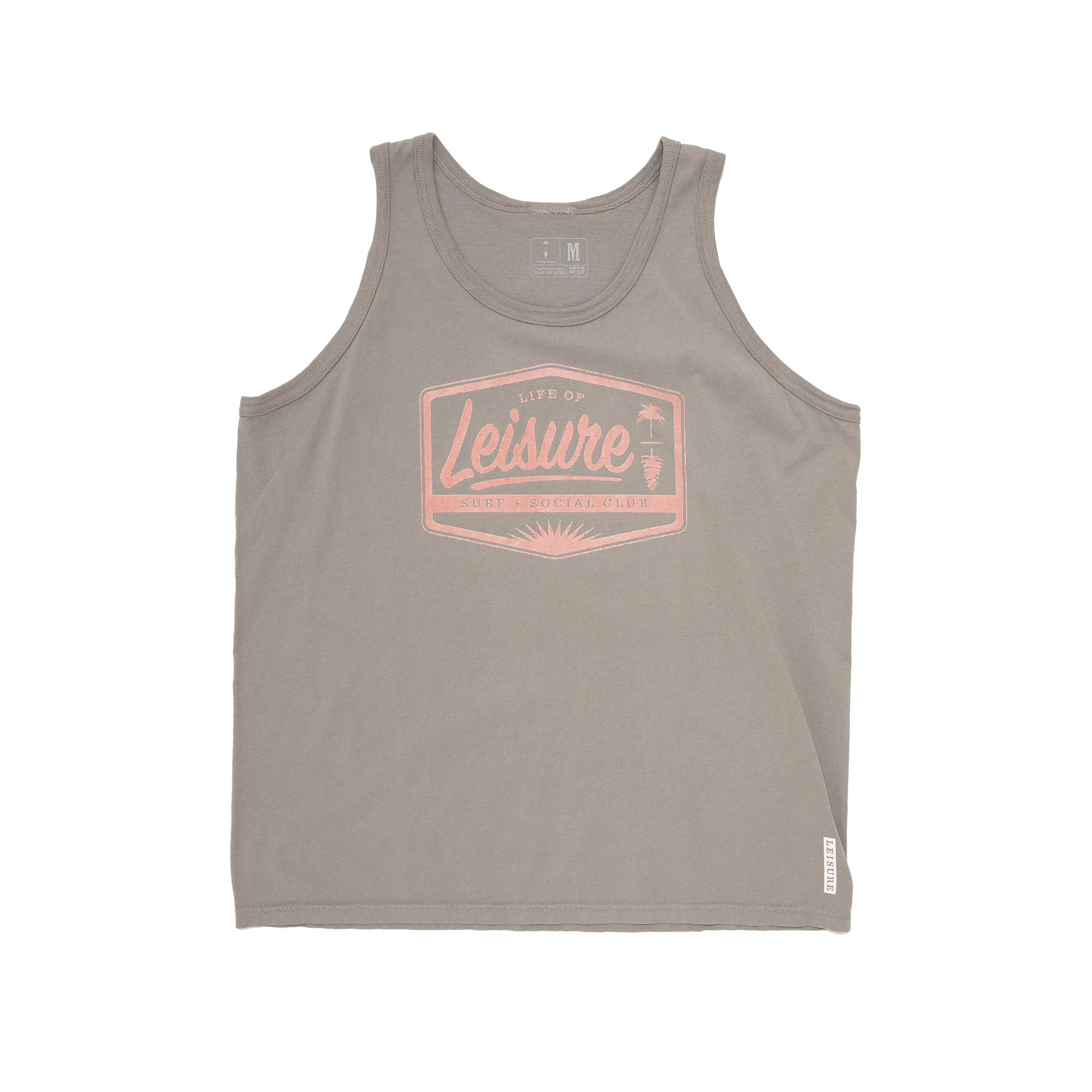 Old Soul Vintage Wash Circadian Badge Tank Top