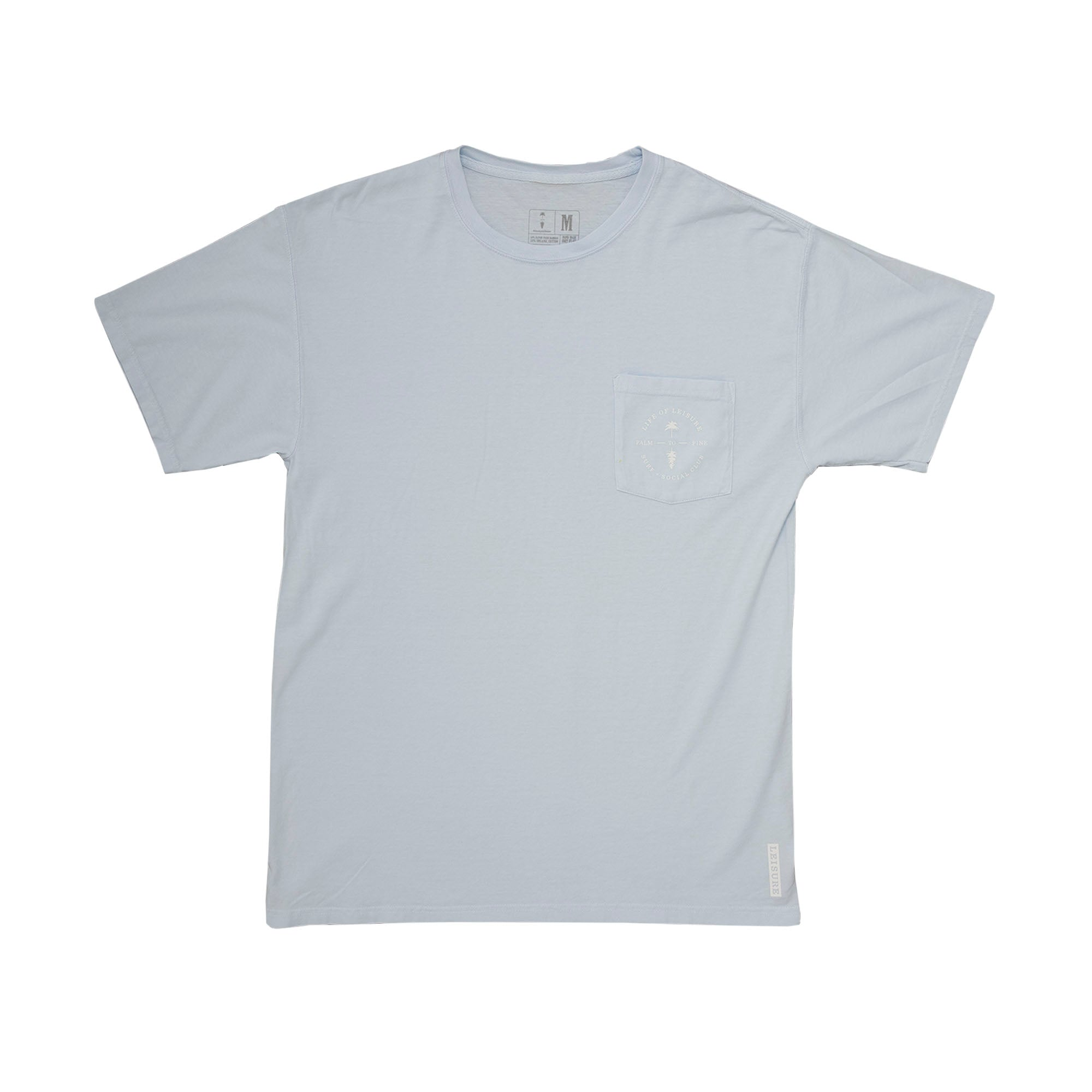 Courier Paradise Crest Pocket T-Shirt