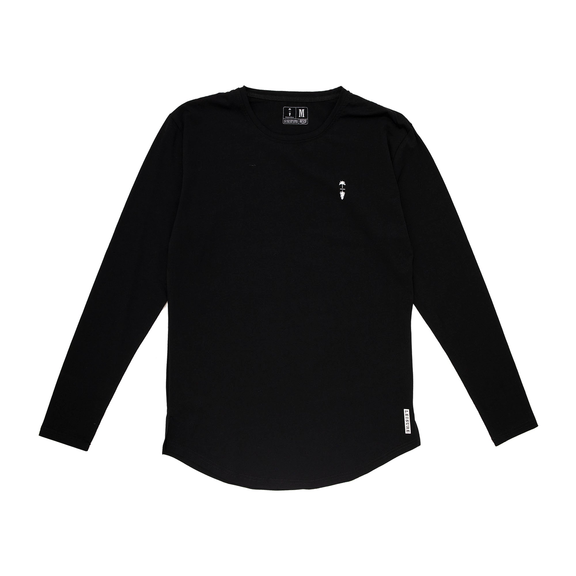 Premium Palm To Pine Scooped Long Sleeve