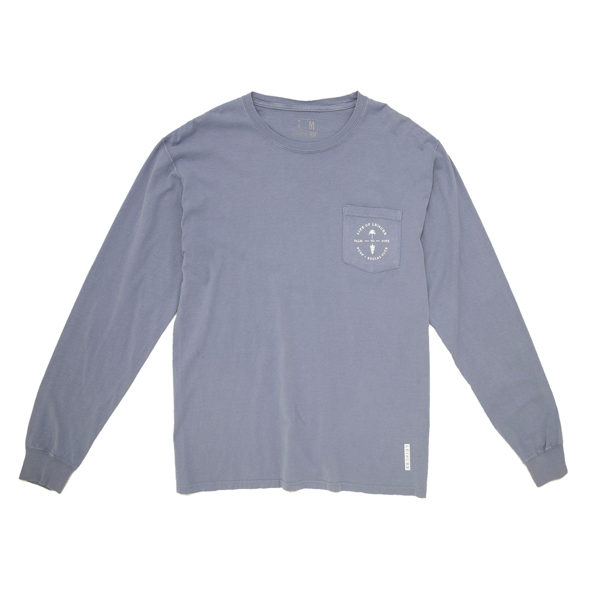 Courier Paradise Crest Pocket Long Sleeve