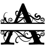 Custom - Split Letter Monogram