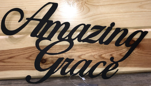 Amazing Grace Metal Art