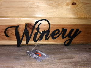 Winery Metal Art - Cut'N Creations
